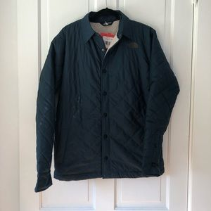 The North Face Quilted Shirt Coat